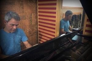 Studio piano time